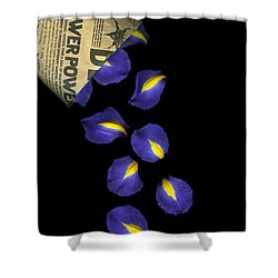 Petal Chips Shower Curtain