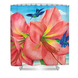 Petal Passion Shower Curtain by Carolyn Steele