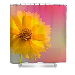 Petals Of Sunshine Shower Curtain