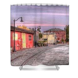 Petaluma Morning Shower Curtain by Bill Gallagher