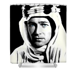 Peter O'toole Portrait Shower Curtain by Gabriel T Toro