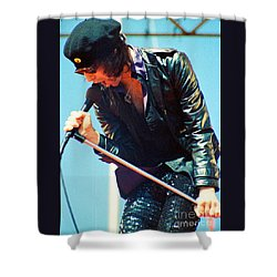 Peter Wolf From J Geils Band - Day On The Green July 4th 1979 Shower Curtain