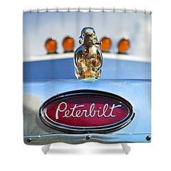 Peterbilt 2 Shower Curtain by Theresa Tahara