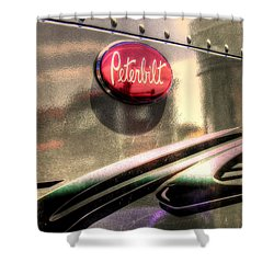 Peterbilt Shower Curtain
