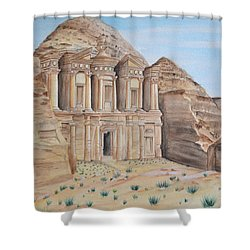 Petra Shower Curtain by Swati Singh