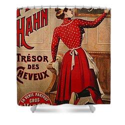 Petrole Hahn Shower Curtain by Boulanger Lautrec