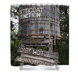 Petticoat Junction Shower Curtain by Kristin Elmquist