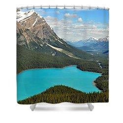Peyto Lake Shower Curtain