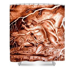 Phaethon Shower Curtain