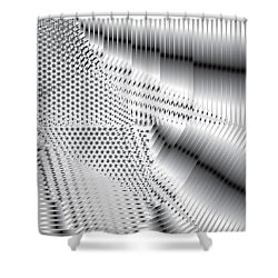 Phalanx 30 Shatter Shower Curtain