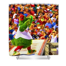 Phanatic In Action Shower Curtain