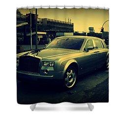Shower Curtain featuring the photograph Rolls Royce Phantom by Salman Ravish