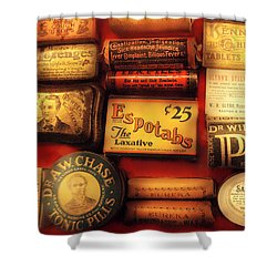 Pharmacist - The Druggist Shower Curtain by Mike Savad