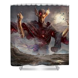 Phenax God Of Deception Shower Curtain