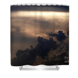 Phenomena Shower Curtain by Amar Sheow
