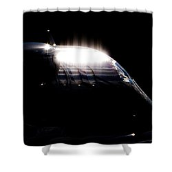 Phenon Reflections Shower Curtain by Paul Job