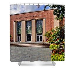 Phi Beta Kappa Hall Shower Curtain by Jerry Gammon