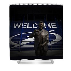 Phil Esposito Says II Shower Curtain