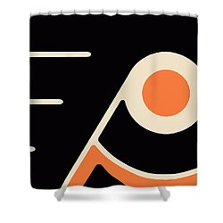 Philadelphia Flyers Shower Curtain by Tony Rubino