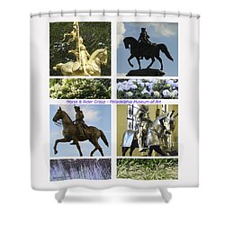 Philadelphia Museum Of Art Shower Curtain by Mary Ann Leitch