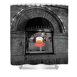 Philadelphia -old City Coffee Shower Curtain