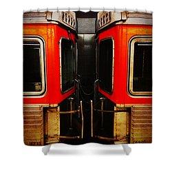 Philadelphia - Subway Face Off Shower Curtain