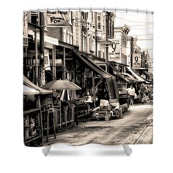 Philadelphia's Italian Market Shower Curtain by Bill Cannon