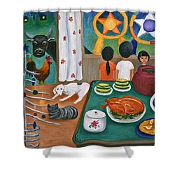 Philippine Christmas 2 Shower Curtain