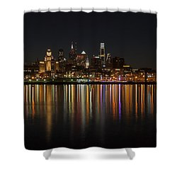 Philly Night Shower Curtain