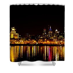 Philly Nights Shower Curtain by Bill Cannon