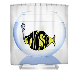 Phish Bowl Shower Curtain by Bill Cannon