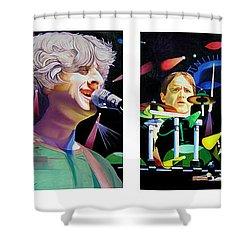 Phish Full Band Shower Curtain