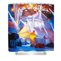 Phish-in Deep Space Shower Curtain by Joshua Morton