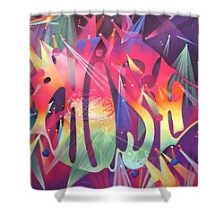 Phish The Mother Ship Shower Curtain