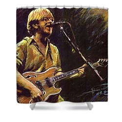 Phish Shower Curtain by Ylli Haruni