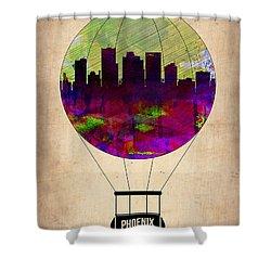Phoenix Air Balloon  Shower Curtain