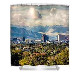 Phoenix Downtown Shower Curtain