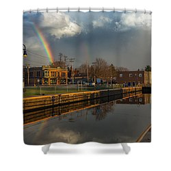 Phoenix Pot Of Gold Shower Curtain by Everet Regal