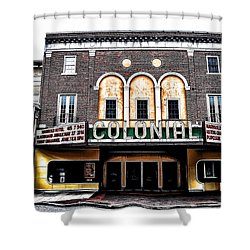 Phoenixville's Colonial Theater Shower Curtain by Bill Cannon