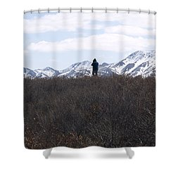 Photographing Nature   Shower Curtain by Tara Lynn