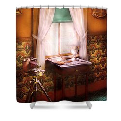Photography - Creative Pursuits Shower Curtain by Mike Savad