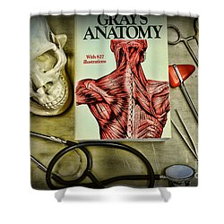 Physician - Tools Of The Trade Shower Curtain by Paul Ward