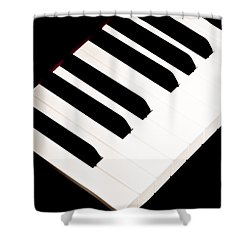 Piano Shower Curtain by Bob Orsillo
