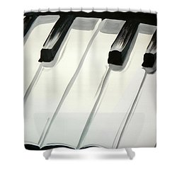 Piano Keys Shower Curtain