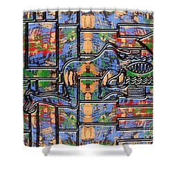 Piano Man Shower Curtain by Patrick J Murphy