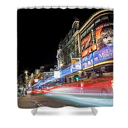 A Night In The West End Shower Curtain