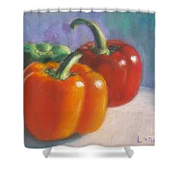 Pick A Pepper Shower Curtain