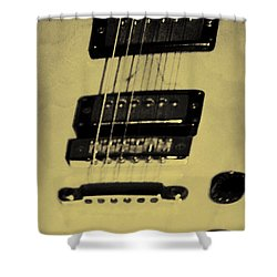 Pick Up Artist Shower Curtain by Bill Cannon