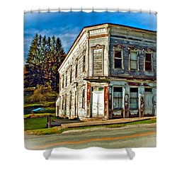 Pickens Wv Painted Shower Curtain by Steve Harrington