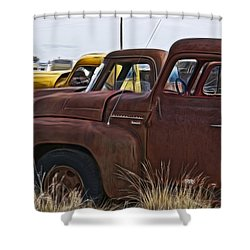 Pickup Cabs 2 Shower Curtain